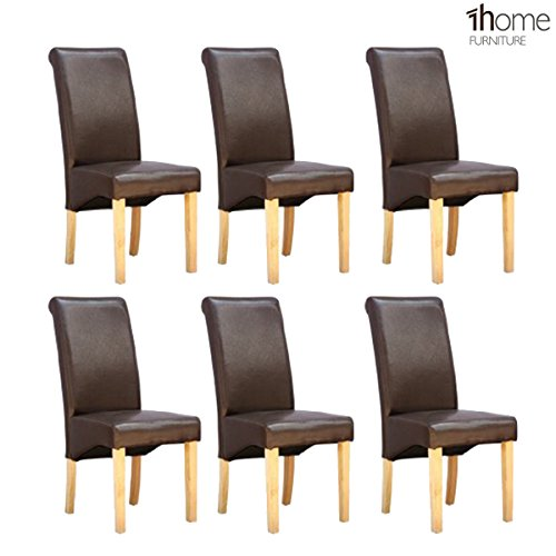 6-x-1home-leather-brown-dining-chair-w-oak-finish-wood-legs-roll-top-high-back