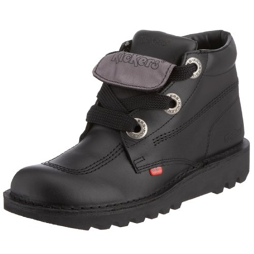 Kickers Men's Kick Hi Phat M Black Lace Up Boot 1-KF0000456 10 UK