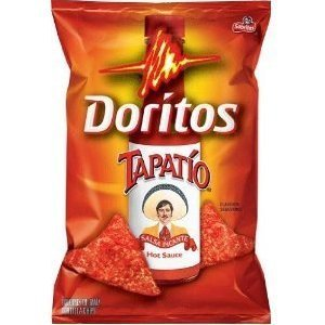 Doritos Tapatio Salsa Picante Hot Sauce Flavor Chips 11oz Bag (Pack of 3) by Frito-Lay, Inc