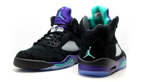 Air Jordan 5 Retro Mens Style: 136027-007 Size: 13 (Grape Retro 13 Jordan Shoes compare prices)