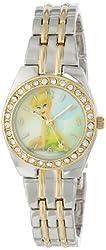 Disney Women's TNK406 Tinkerbell Two-Tone Bracelet Watch