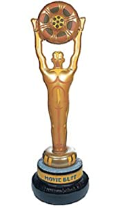 """LARGE 53"""" Vinyl Inflate INFLATABLE MOVIE Grammy Oscar STATUE trophy award"""