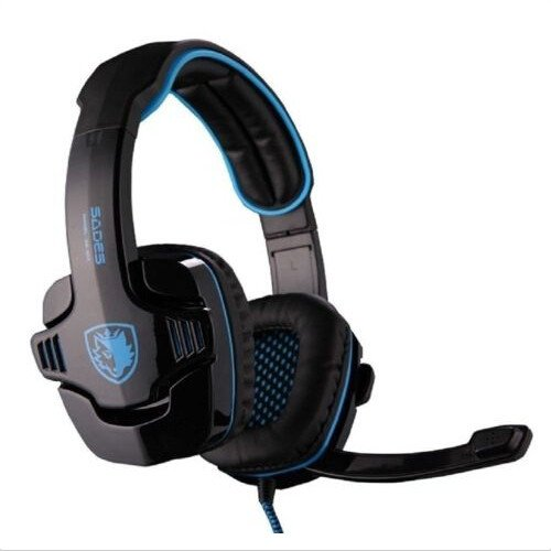Sades 7.1 Surround Sound USB Gaming Headsets are cheap but still good