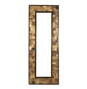 Reclaimed Wood Metal 30 X 80 Leaning Floor