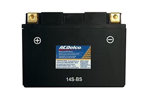 Acdelco Atz14Sbs Specialty Powersports Agm Jis 14S-Bs Battery