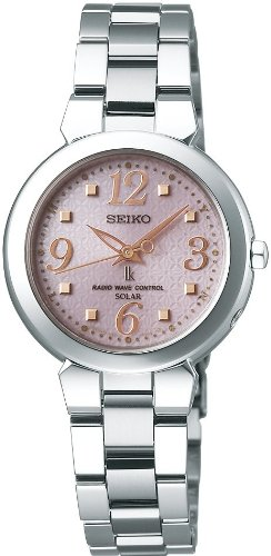 [セイコー]SEIKO 腕時計 LUKIA ルキア ソーラー電波時計 SSVE041 レディース