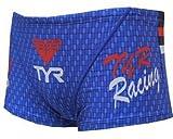 (ティア)TYR メンズ水着 ショートボクサー BLOGO-16M BL ブルー M