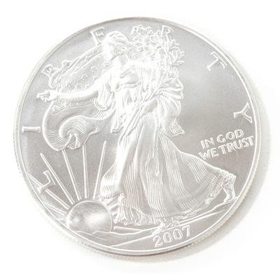 2007 Silver American Eagle Brilliant Uncirculated Coin