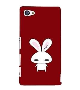 EPICCASE Love Mobile Back Case Cover For Sony Xperia Z5 Mini / Z5 Compact (Designer Case)
