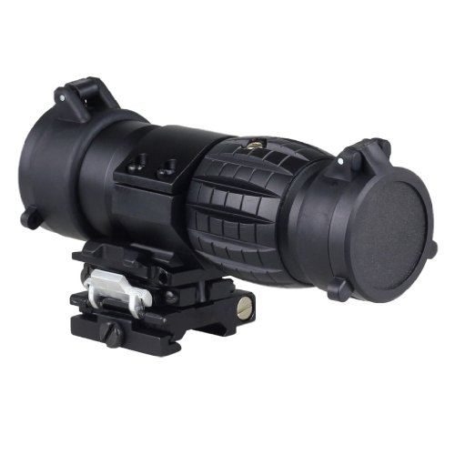 3X Magnifier Scope Quick Release For Rifle Picatinny Rail Mount