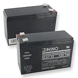 Parasystems LCR12V6.5BP1 Rhino Battery, SLA 12V 7000mA