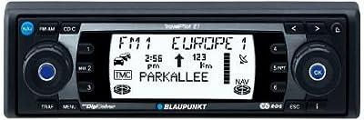 Blaupunkt TravelPilot E1 CD-Tuner mit Navigationssystem schwarz/blau/rot von Blaupunkt-Werke GmbH bei Reifen Onlineshop