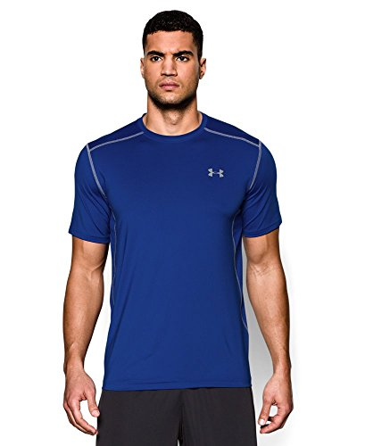 Under Armour Men's Raid Short Sleeve T-Shirt, Royal (400), Large