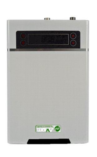 Aviditi Xfj100Fdch-W Tankless Electric Water Heater, 10Kw 3 Gpm, White