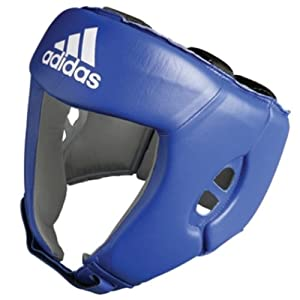 .com : adidas AIBA approved Boxing Head Guard Blue (X-Large) : Boxing ...