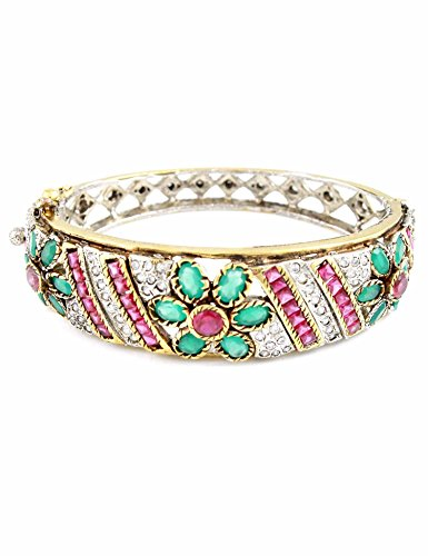 Theartjewellery Metal Cuff & Kadaa Women Multi-Colour (multicolor)