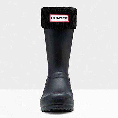 Hunter Women apos;s Half Cardigan Short Boot Socks Black M (Rain Boot Short Socks compare prices)