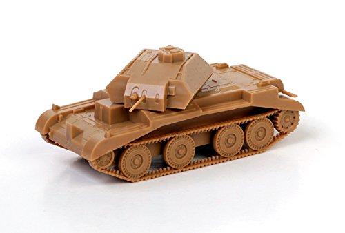 Zvezda Models British Tank Crusader MK. IV Model Kit (1/100 Scale)