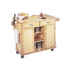 Home Styles 5099-95 Napa Kitchen Center Natural Finish
