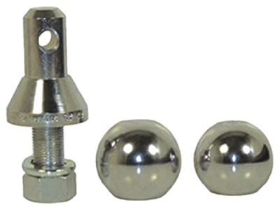 "Convert-A-Ball 900B Chrome 1"" Standard with 1-7/8"", 2"" and 2-5/16"" Ball"