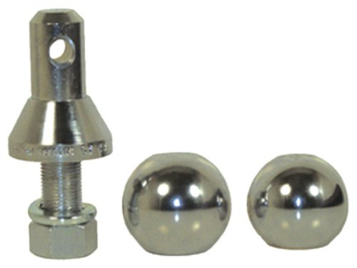 Convert-A-Ball 900B Chrome 1 Standard with 1-7 8 2 and 2-5 16 BallB0000AYAXG