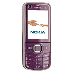 Nokia 6220 classical plum (UMTS, HSDPA, Quadband, 5MP, MP3 Player, UKW Radio) Handy ohne Branding