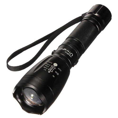 Ultrafire Cree T6 1200Lm 5Mode Telescopic Zoom Flashlight(18650Or3Aaa)