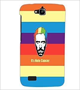 PrintDhaba Funny Image D-4040 Back Case Cover for HUAWEI HONOR HOLLY (Multi-Coloured)