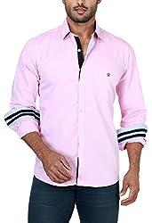 Botticelli Plain Shirts for men-Pink