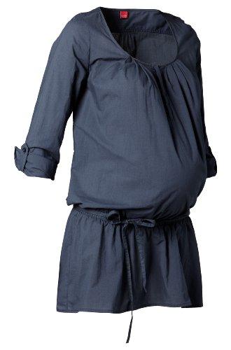 Esprit Maternity  Women's H84305 Tunic Maternity Blouse Blue (Dark Navy 402) 34