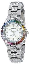 Armitron Womens 753689MPSVRB Multi-Color Swarovski Crystal