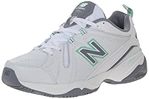 New Balance Women's WX608V4 Training Shoe, White/Mint, 7.5 B US