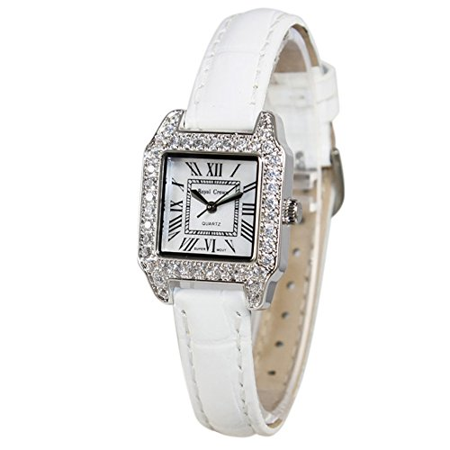 Santimon-Roman Scale Fashion Watch Watch Female Fashion Belt Table Wrist Watch With Gift Box