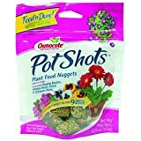 Osmocote 278201 PotShots Plant Food Nuggets, 16 Nuggets/Bag, 4.23-Ounce