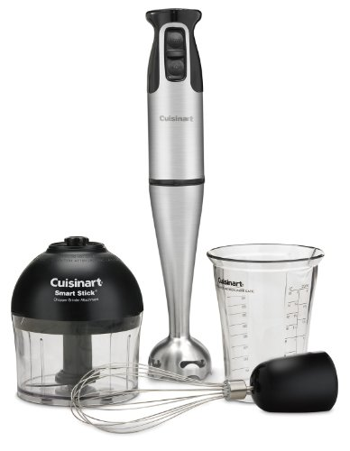 Learn More About Cuisinart CSB-79 Smart Stick 2-Speed 200-watt Immersion Hand Blender with Attachmen...