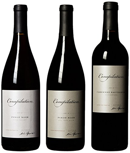 Compilation California Red Wine Mixed Pack 3 X 750 Ml
