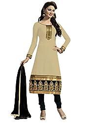 Kaizen Export Cream Designer Salwar Suit (KEfm106)