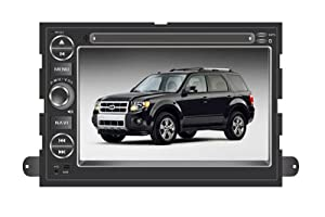 Chilin Ford Focus( 2004-2006) DVD Player Double-Din High Touchscreen & GPS Navigation Radio+ TPMS( Tire Pressure Wireless Monitoring System),Support Bluetooth,Radio,iPod Controls,steering wheel control,rear view camera input
