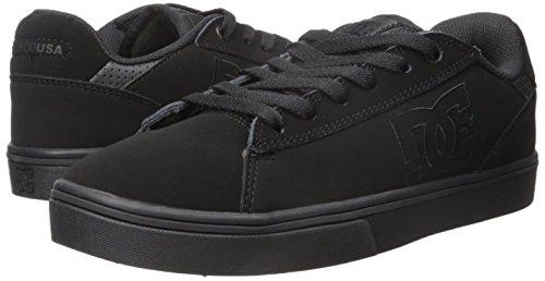 DC Men's Notch Skate Shoe, Black, 9 M US