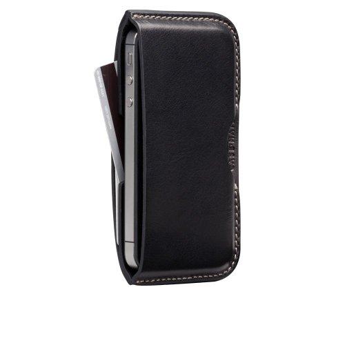 Case-Mate iPhone 4 Hampton Leather Wallet, Black