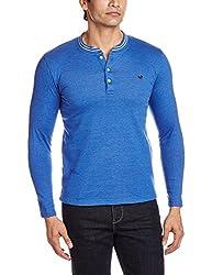 Lawman Men's Cotton SweatShirt (8907201797130_PG-03 SWEAT-172 R/LF/S RYLBL_L_Royal Blue)