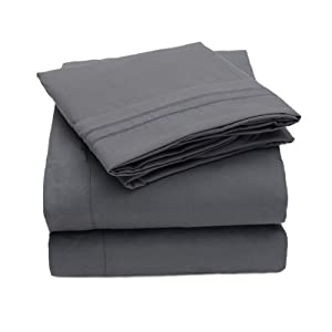 Amazon.com - 1500 Thread Count 4pc Bed Sheet Set Egyptian Quality
