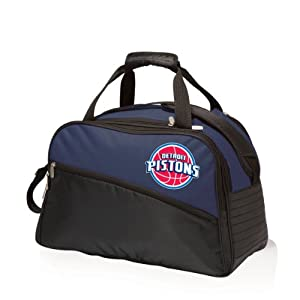 NBA Detroit Pistons Tundra Insulated Cooler Duffel Bags by Picnic Time