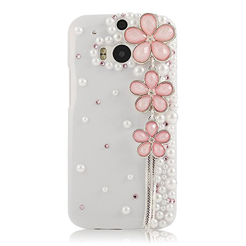 Buy Cheap EVTECH(TM) Luxury 3D Handmade Flower Chain Fashion Crystal Rhinestone Bling Hard Case Cove...