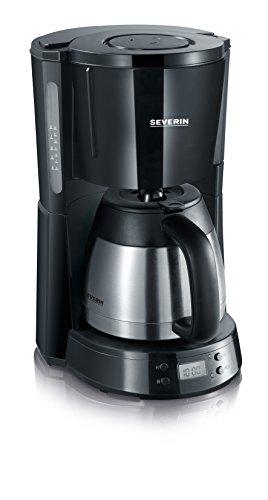 Severin KA 4141 Macchina per Caffè Americano, Tè, Tisane e Infusi, con Timer e Caraffa Termica Inox