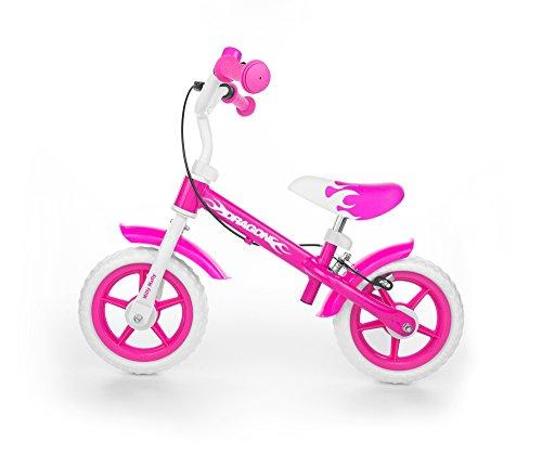 milly-mally-4768-bicicleta-infantil-de-10-pulgadas-ruedas-con-frenos-y-timbre-color-rosa