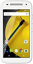 "Motorola Moto E 4G - Smartphone libre Android (pantalla 4.5"", cámara 5 Mp, 8 GB, Quad-Core 1.2 GHz, 1 GB RAM), blancomartphone de 4.5"" (Android, 4G, cámara 5 MP, 8 GB, Quad Core 1.2 GHz, 1 GB RAM) color blanco"