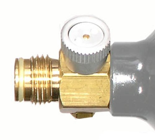 Rap4 Brass CO2 Pin Valve On/Off for Paintball Tanks (Ball Valve Pin compare prices)