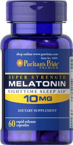 Fierté de mélatonine 10 mg-60 Capsules de