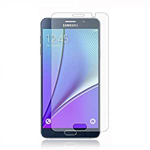 Galaxy Note 5 Screen Protector, SmartProteger Premium Slim Tempered Glass Screen Protector for Samsung Galaxy Note 5 with 9H Hardness/Anti-scratch/Fingerprint resistant (Samsung Galaxy Note 5)